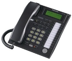 Kx Telephone T7736 Panasonic Corded (Panasonic KX-T7736 Phone Black)