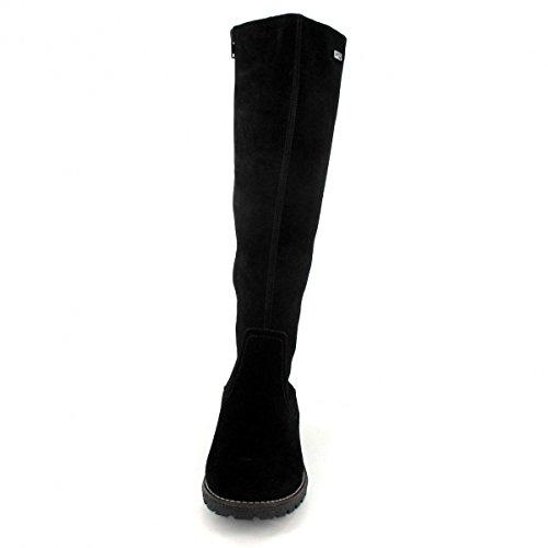 matelas en chaussures femme noir bottes taille REMONTE grande Wn18gn