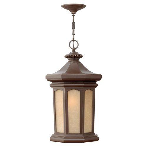 Hinkley 2132OZ, Rowe Park Aluminum Outdoor Ceiling Lighting, 100 Watts, Oil Rubbed Bronze by Hinkley - 2132 Us