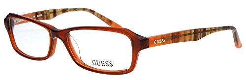 Guess Lunettes Cadre Frame, Montures Optiques GU 2458 AMB 54 | GU2458 A15 54