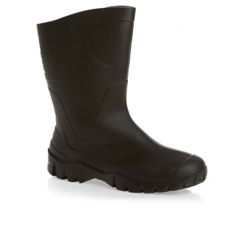 Dunlop Dee Half Calf Wellington Boots - Black
