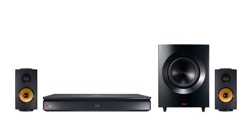 LG BH7240C-x 3D Blu-ray 2.1 Heimkinosystem (600 Watt, Ultra HD Upscaling, WLAN, Smart TV, Bluetooth, Spotify) schwarz