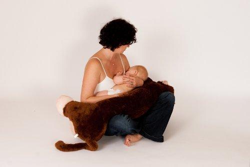 My Feeding Friend - Grow With You Nursing Pillow - Monkey