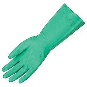Chemical Resistant Gloves, Nitrile, XS, 13''L