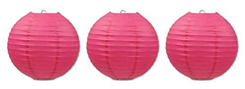 Beistle 54570-C 3-Pack Paper Lanterns, 9-1/2-Inch]()