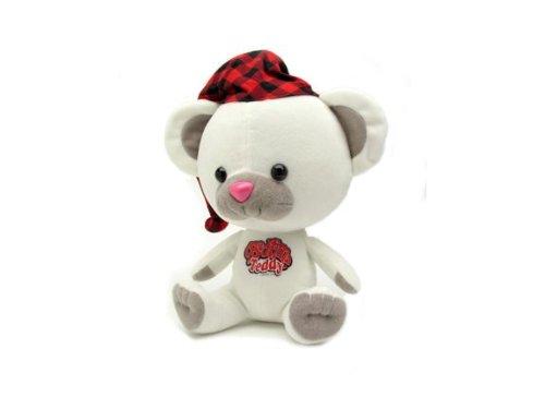 Toy Vault Bedtime Teddy Swearbear Talking Plush Toy