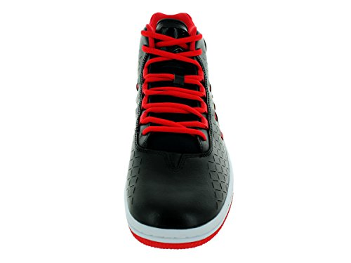 Nike Air Illusion Herren Hallo Turnschuhe 705141 Turnschuhe (uk 6 US 7 Eu 40, Schwarz Schwarz Hell G Black/Black/Unvrsty Red/White