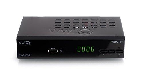 WWIO TRINITY T2//C PRO  DVB-T//T2//C HD Kombi Receiver