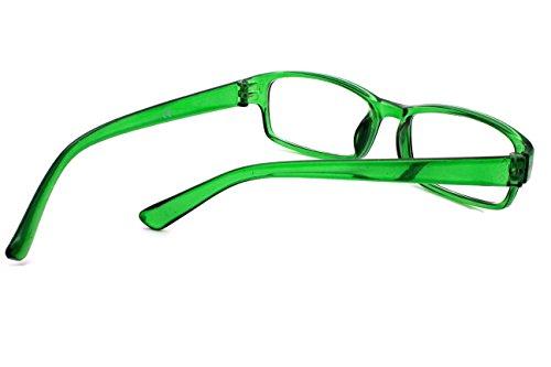 1 Green Transparent 75 00 50 Vue verre 0 4sold Lunettes 0 de De 50 1 Slim Lecture ZvnCnaqWU4