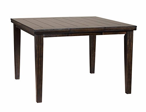 Primo International 2845-TABY0084 20933 Hyde Counter Height Casual Wood Dining Table, Dark Napa