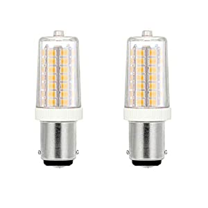 Sewing Machine Bulb LED, SBC B15 Small Bayonet Cap, 15W 25W 35W Tungsten Halogen Bulb Replacement, 3000K Warm White for…