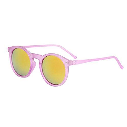 Metálica Para Tone Con Marca Gafas Sol Logobeing Gafas Circulares F de Montura Sol de Classic Mujer KaPKRCqyw