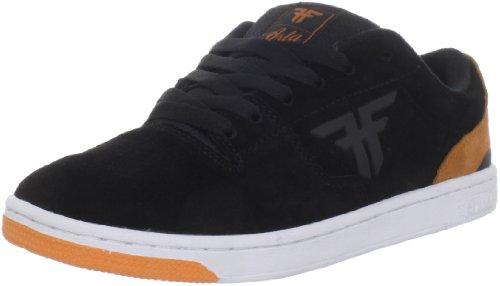 Fallen SEVENTY SIX 41070060 - Zapatillas de skate de ante para hombre Black/orange
