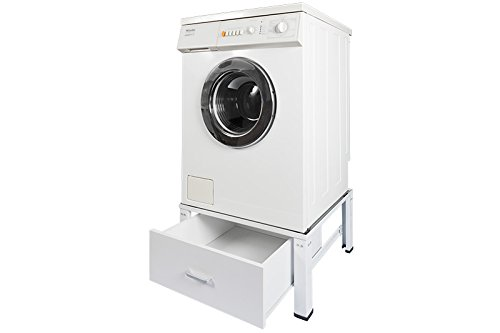 Sockel mit Schublade (für Waschmaschinen, Trockner, Kühlschränke ...