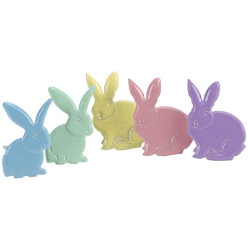 EYELET OUTLET Shape Brads-Rabbits ()