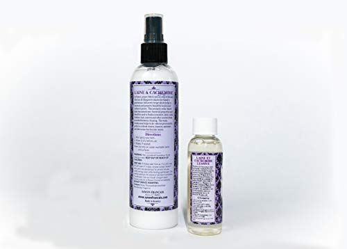 Florence Wool Spray, and Cashmere Liquid Detergent, oz.   Holiday Bundle Gift