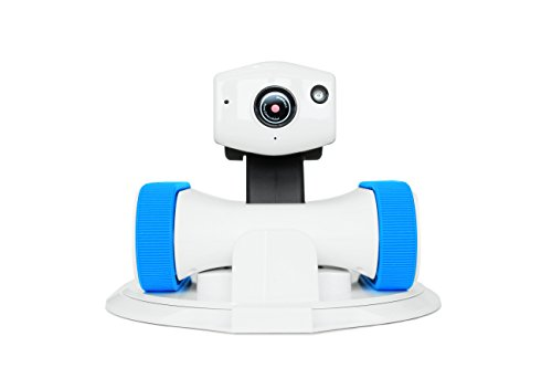 Appbot Riley WIFI Home Security, Pet Monitor, Baby Monitor Robot IP Camera. Control by iPhone, Android Phone, any Tablets, Blue belt
