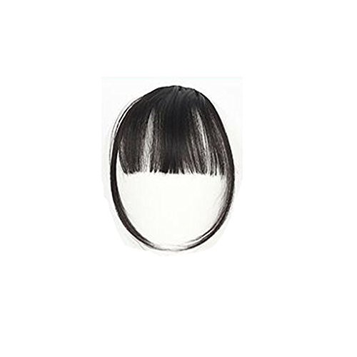 Expxon Pretty Girls Clip On Clip In Front Hair Bang Fringe Hair Extension Piece Thin