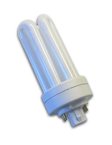 4-Pin GX24q-3 Base GE 97614 4-Pack 2700K 82 CRI 1710 Lumens T4 Shape F26TBX//827//A//ECO 26-Watt Energy Star Ecolux Triple Tube Compact Fluorescent Light Bulb