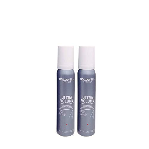 Goldwell Stylesign Ultra Volume Top Whip 4 Shaping Mousse- Travel sizes 3.4oz (2SET) ()