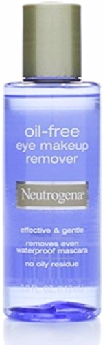 Neutrogena Oil Free Eye Makeup Remover 3.8 oz (Pack of 4)