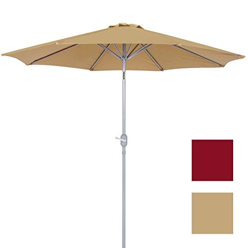 Best Choice Products Patio Umbrella 9' Aluminum Patio Market