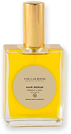 THE LAB ROOM HAIR SERUM, LUXURY HAIR OIL COCONUT & CHIA - 100ML
