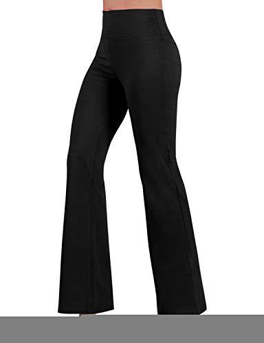7c1d32778b32d ODODOS Power Flex Boot-Cut Yoga Pants Tummy Control Workout Non See-Through  Bootleg