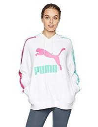 PUMA Womens Classics Logo T7 Hoody Hoodies & Sweatshirts