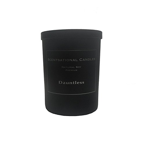 Scentsational Candles, Premium Soy (Man Candle) Dauntless