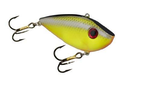 Strike King Redeye Shad Bait (Chartreuse Baitfish, 0.5-Ounce) (Shad Baitfish)
