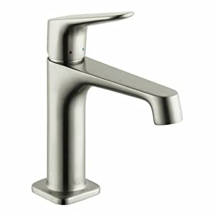 Hansgrohe 34010821 Axor Citterio M Bathroom Faucet, Brushed Nickel