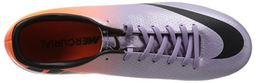 Nike Mercurial Victory IV FG Fussballschuhe metallic mach purple-black-total orange - 44