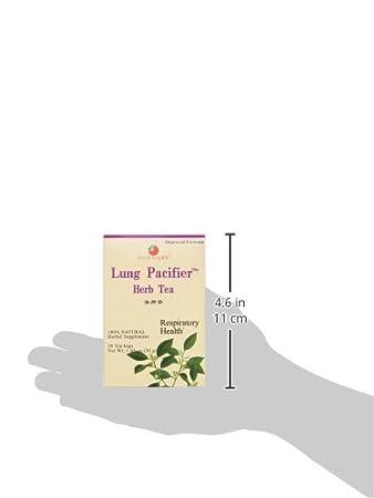 Amazon.com: Salud King medicinales Tés Chupete de pulmón ...