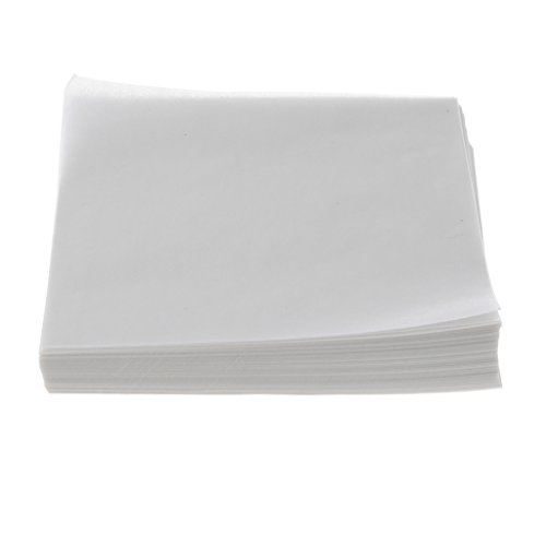Baosity 500PCS Weighing Paper Pan Paper for Laboratory 150x150mm Square by Baosity