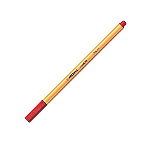 Stabilo Point 88 Pen, Red by Stabilo (Image #2)