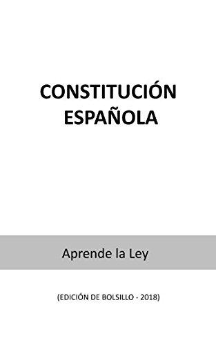 Constitución Española: (Edición de Bolsillo): Amazon.es: la Ley, Aprende: Libros