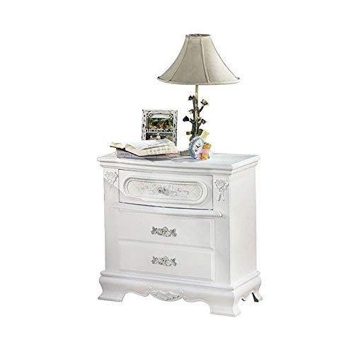 ACME Flora White Nightstand