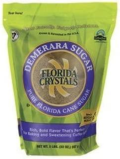product image for Florida Crystals Demerara Pure Cane Sugar 2 lbs Pkg by Florida Crystals