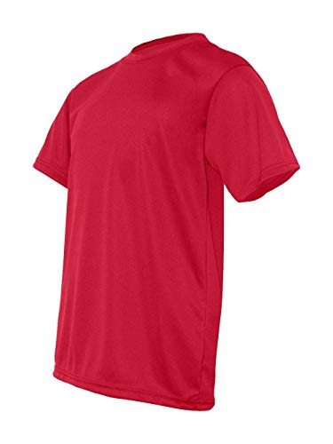 C2 Sport-Youth Short Sleeve Performance T-Shirt 5200 Red Large