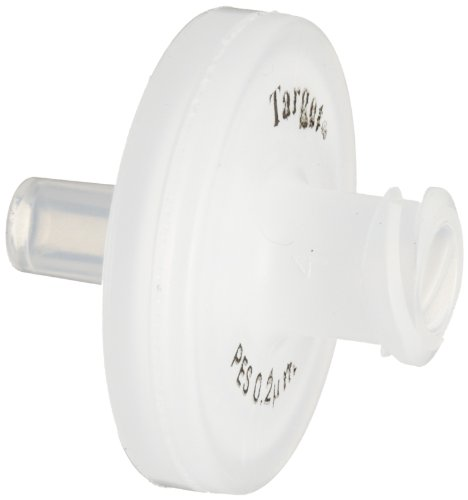 National Scientific PES Target Syringe Filter, 0.2µm Pore Size, 17mm Outside Diameter (Case of 100) by National Scientific