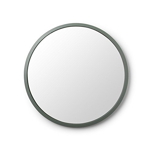 Umbra 1008243-1095 Circular Wall Mirror, 24-Inch, Spruce (Round Modern Walls Mirrors For)