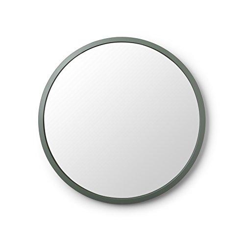 Umbra 1008243-1095 Circular Wall Mirror, 24-Inch, Spruce (Round For Mirrors Walls Modern)