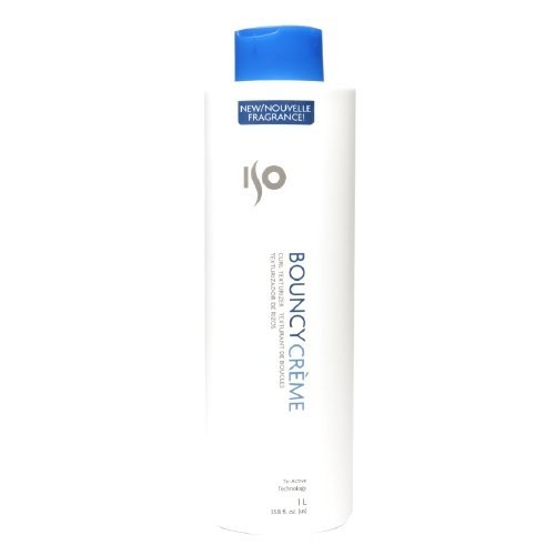 Iso Bouncy Creme, 33.8 Fluid Ounce (Curly Creme)