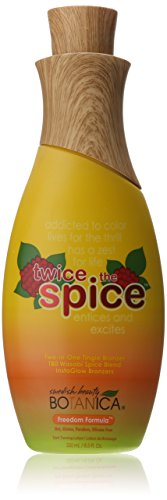 New Sunshine Swedish Beauty Bronzer, Twice The Spice, 8.5 Ounce