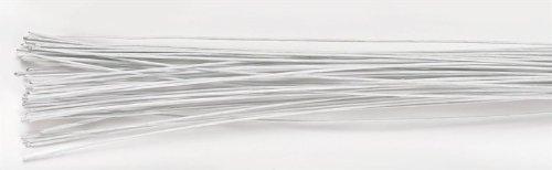 Culpitt Blumendraht Weiß- 18 Gauge