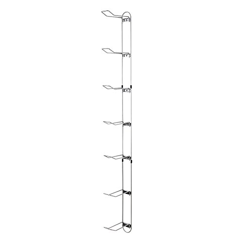 Knape andamp; Vogt John Sterling Sports Rack, 7-Ball Capacity