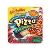 Kraft Oscar Mayer Lunchable Extra Cheese Pizza, 4.5 Ounce -- 16 per case.