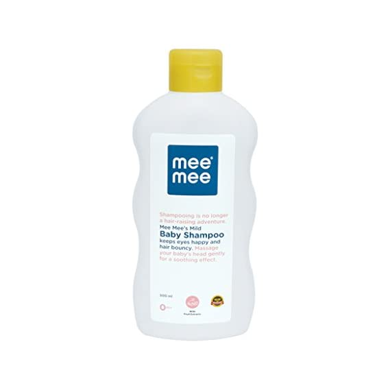 Mee Mee Mild Baby Shampoo (Regular - 500 ml)