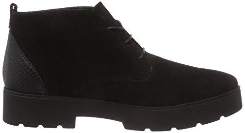 s.Oliver 25442 - botas chukka de material sintético mujer negro - Schwarz (Black/Blk Sna. 008)